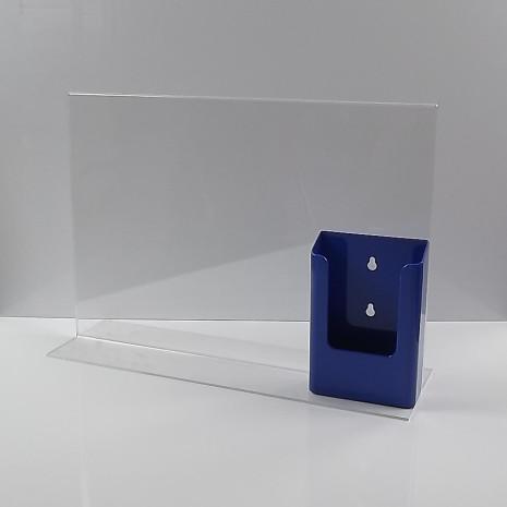 T-Standaard A3 Liggend met 1/3 A4 Folderhouder Blauw