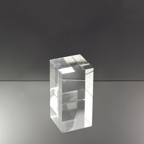 Acrylaat blok 80x80x80
