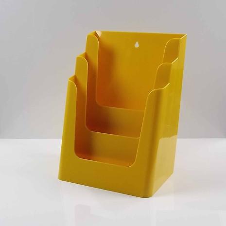 Folderhouder 3* A4 Geel