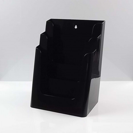 Folderhouder 3* A4 Zwart