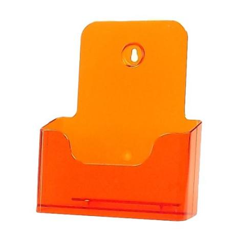 Folderhouder A5 Transparant Oranje