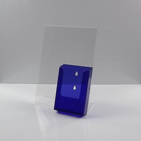 A4 Folderhouder Transparant Paars