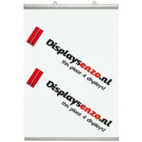Posterklem 420 mm voorzien van Poster Displaysenzo