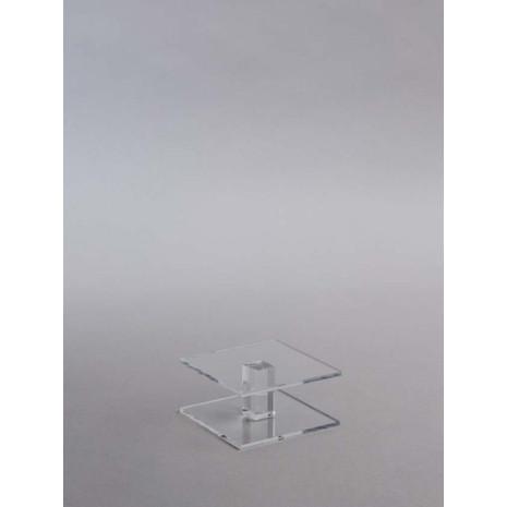 Helder acrylaat Kolom 100*100*50mm