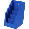 Folderhouder 4* A5 Blauw
