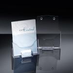 Luxe Folderhouder A4 met visitekaarthouder